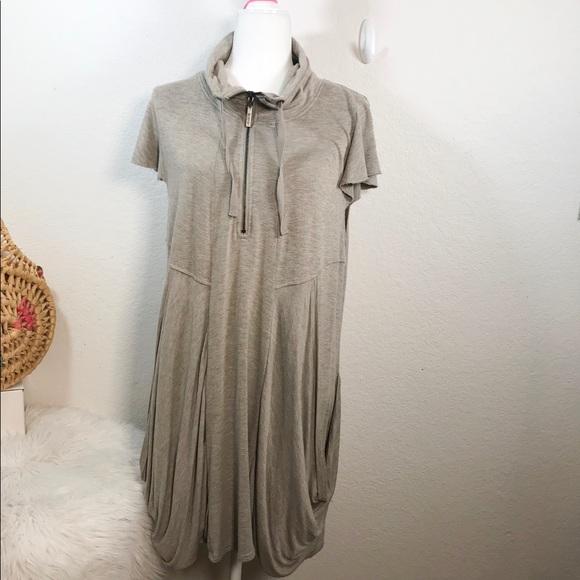 Kensie Dresses & Skirts - Kensie zip up sweatshirt dress Size XL